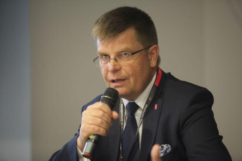 Jerzy Leszczyński, marszałek województwa podlaskiego. (fot. PTWP)