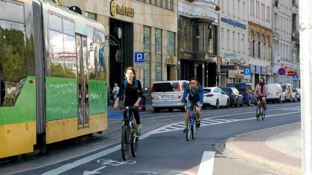 Poznań chce wybudować 150 km nowych tras rowerowych