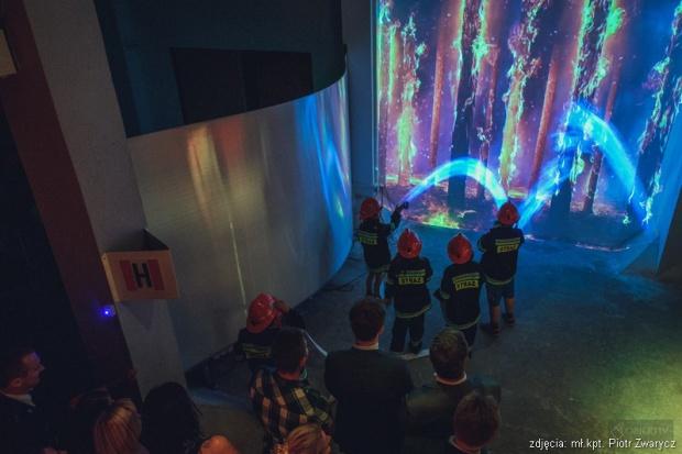 """W nowo otwartym Centrum Edukacji Przeciwpożarowej w Chorzowie funkcjonować będą sektory tematyczne: """"Ścieżka Edukacyjna"""" oraz """"Mała Strażnica"""" (fot.traz.gov.pl)"""