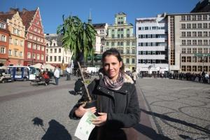 Wrocław za odpady rozda drzewka