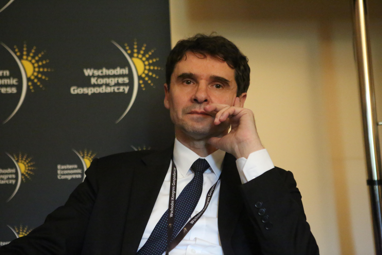 Romaniuk: W ciągu ostatnich 25 lat w zakresie infrastruktury dużo w Polsce dało się zrobić. Fot. PTWP