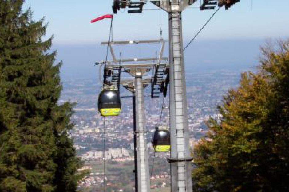 Bielsko-Biała rozbuduje drogę do kolei linowej na Szyndzielnię