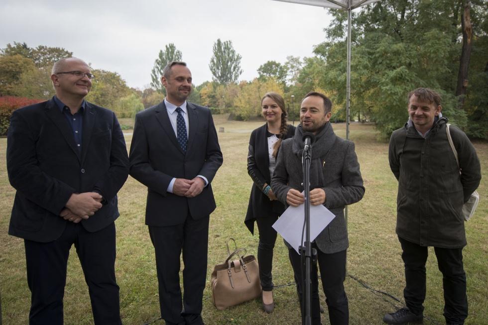 Podczas inauguracji podkreślono, że przed jednostką postawione będą duże wyzwania w zakresie realizacji celów nowego programu ochrony środowiska Warszawy (fot. E.Lach/UM Warszawa)