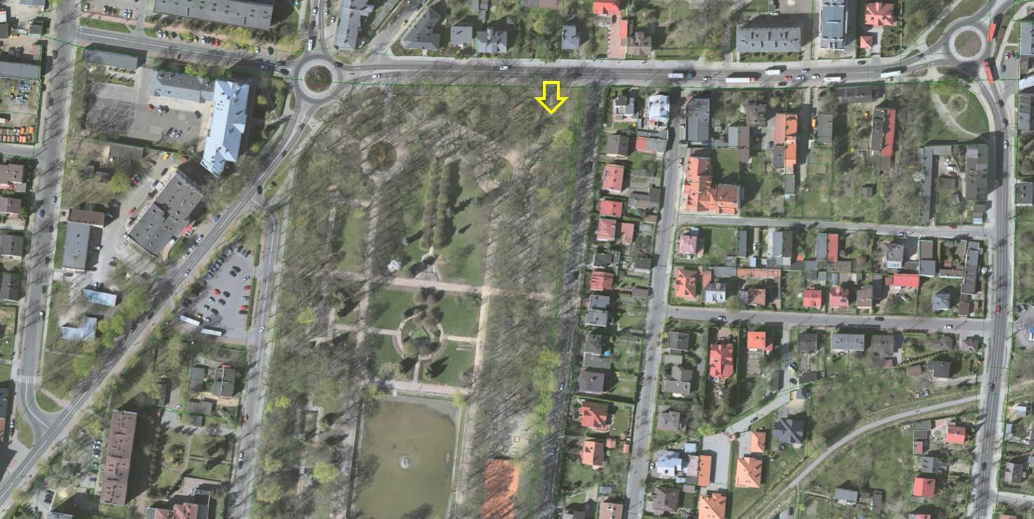 Cena wywoławcza czynszu dzierżawnego za działkę w parku wynosi 6,5 tys. zł rocznie. (fot. Piotrkow.pl)