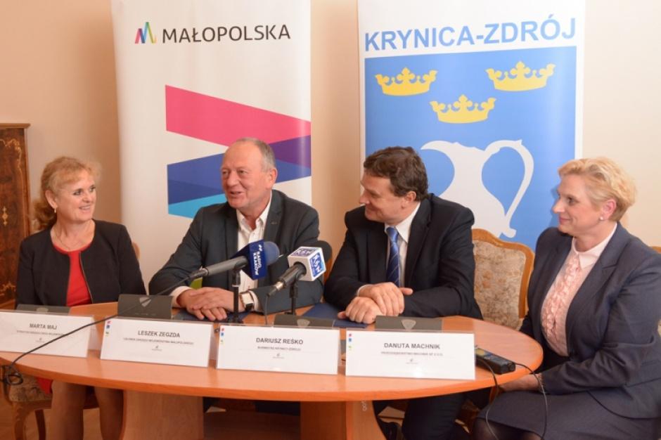 Rusza rozbudowa drogi wojewódzkiej w Krynicy Zdroju