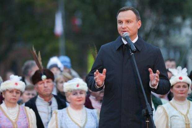 Andrzej Duda w Strzelcach Krajeńskich: Będę wspierał budowę obwodnicy