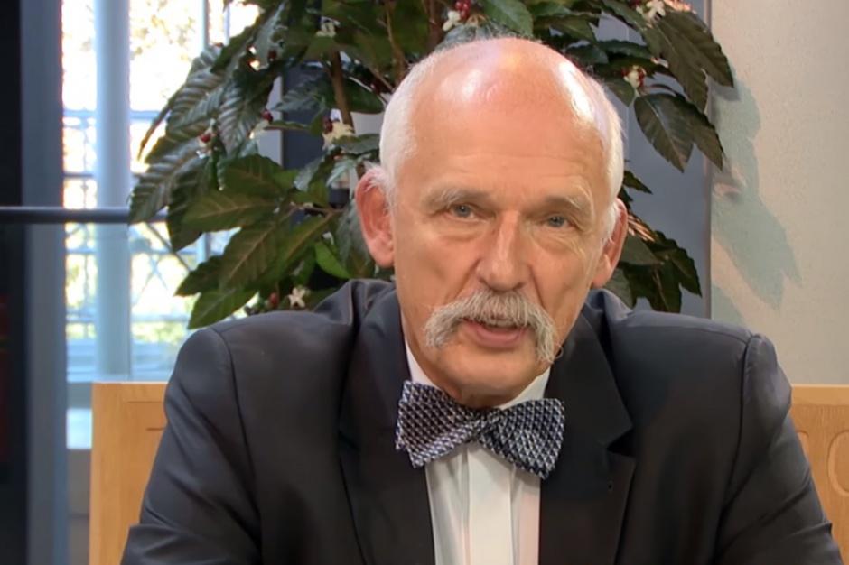 Korwin-Mikke: By dać 500 plus, rząd musi zabrać 700 zł w podatkach