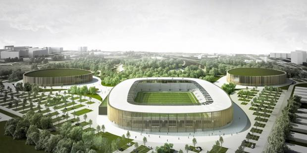 Stadion w Sosnowcu: władze miasta podpisały umowę na projekt budowy