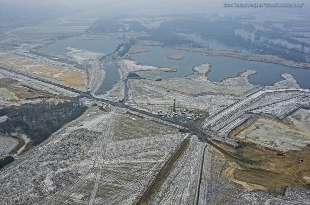 Zerwana umowa z wykonawcą zbiornika przeciwpowodziowego Racibórz Dolny
