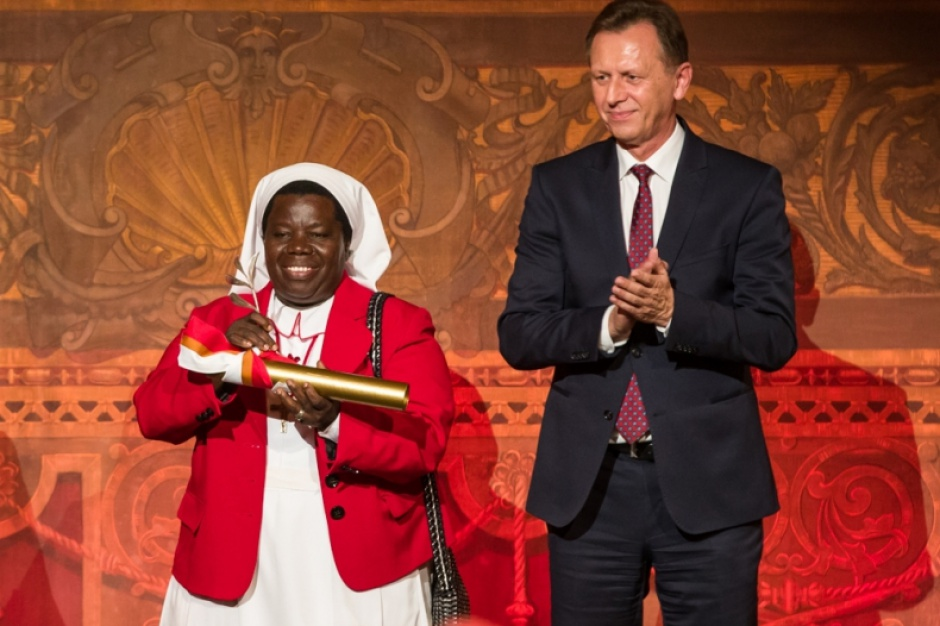 Veritatis Splendor: Siostra Rosemary Nyirumbe pierwszą laureatką nagrody