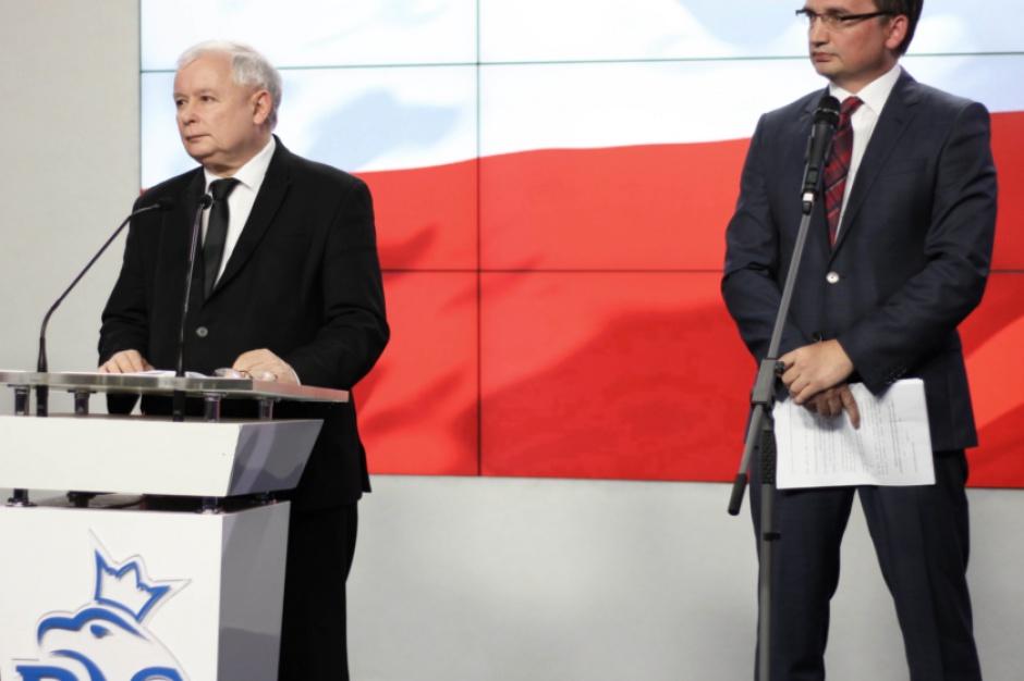 Kaczyński, Ziobro: projekt  ws. nadużyć przy reprywatyzacji