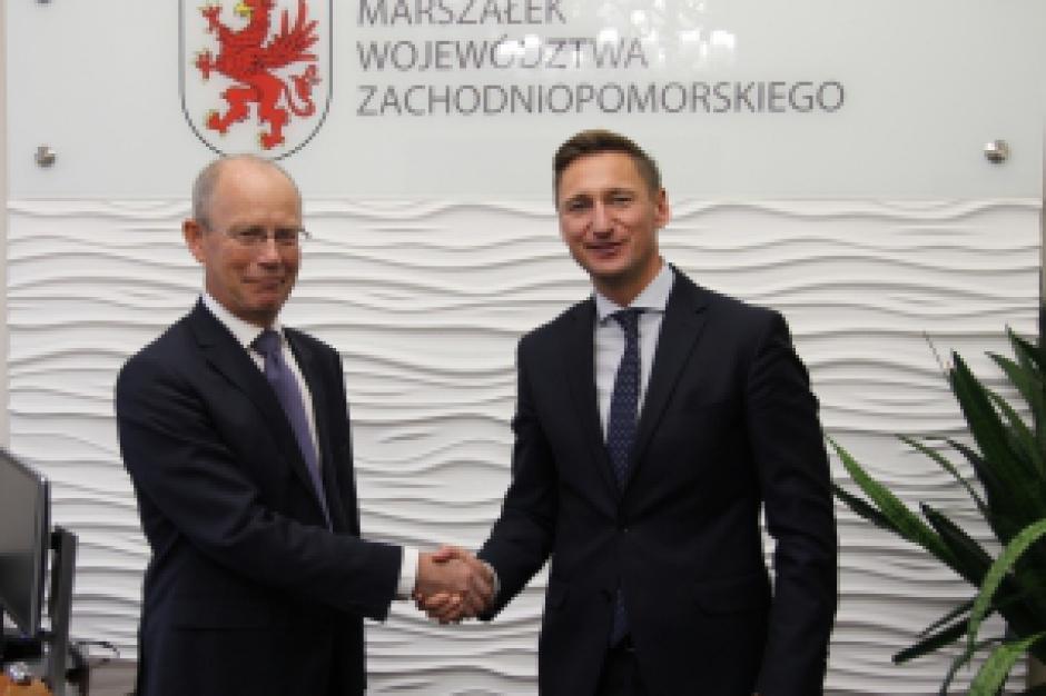 Zachodniopomorskie: Rozmowy o gospodarce z ambasadorem Królestwa Danii