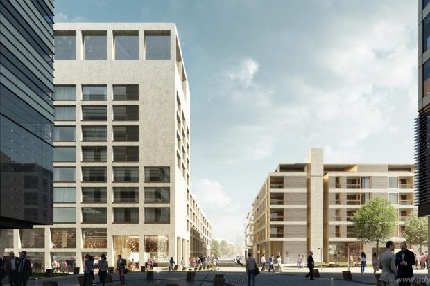 Wizualizacja Gdynia Waterfront autorstwa pracowni JEMS Architekci