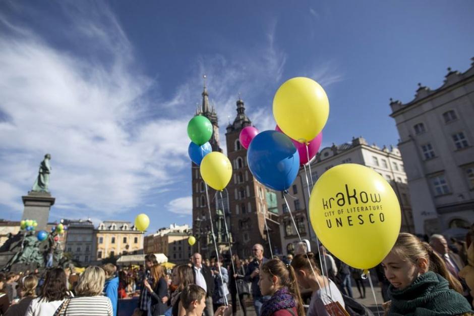 Kraków świętuje trzecią rocznicę przyznania tytułu Miasta Literatury UNESCO