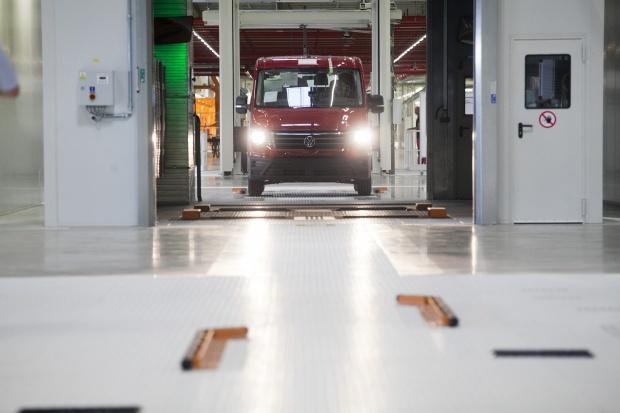 Fabryka Volkswagena we Wrześni rozpoczyna działalność