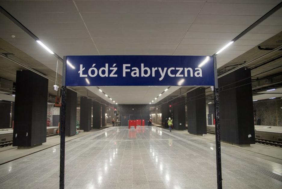 Na stacji i w tunelu położono w sumie ponad 12 km torów i zbudowano 18 rozjazdów. (fot. PKP PLK)