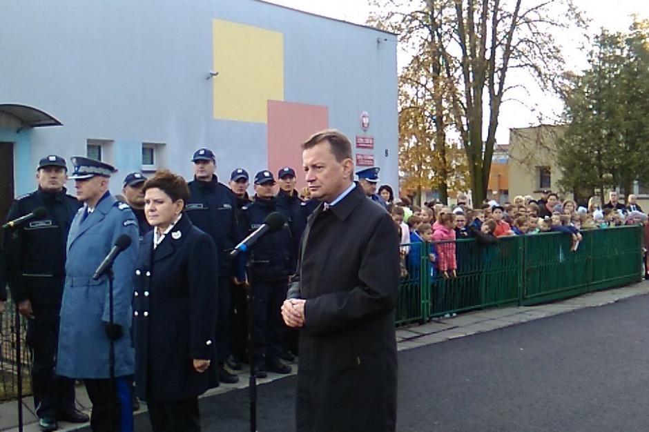 Premier: będziemy przywracali zlikwidowane posterunki policji