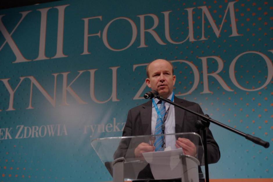 XII Forum Rynku Zdrowia, Konstanty Radziwiłł: Komercjalizacja nie rozwiąże problemów ochrony zdrowia