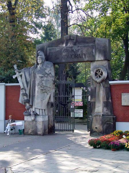 Cmentarz Powązkowski w Warszawie (fot.wikipedia/Hubert Śmietanka)
