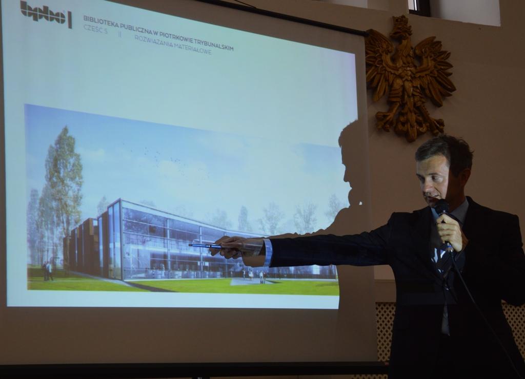 Autorzy projektu przyznają, że inspiracją dla koncepcji była książka. (fot. piotrkow.pl)