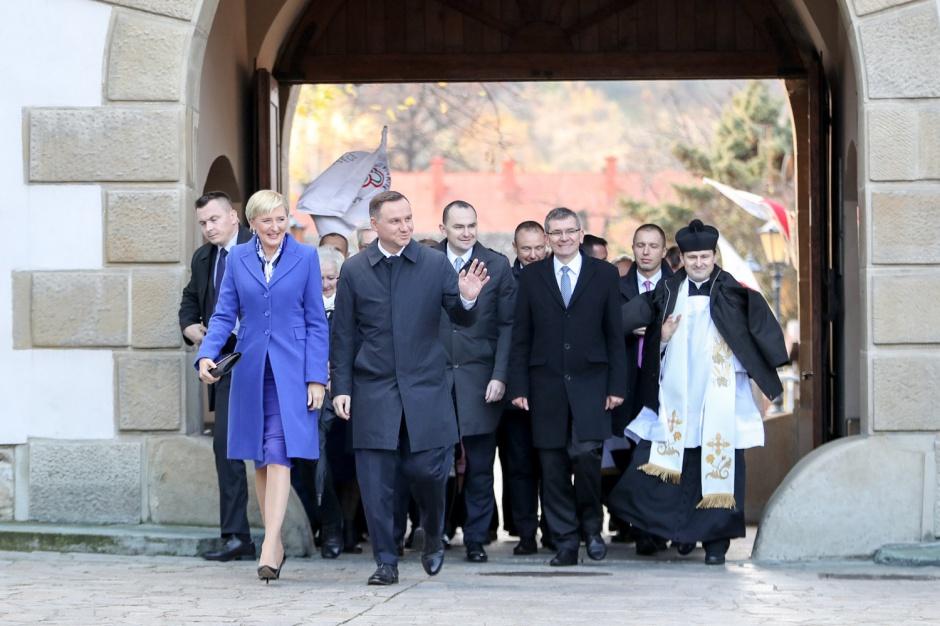 Andrzej Duda z wizytą w Starym Sączu