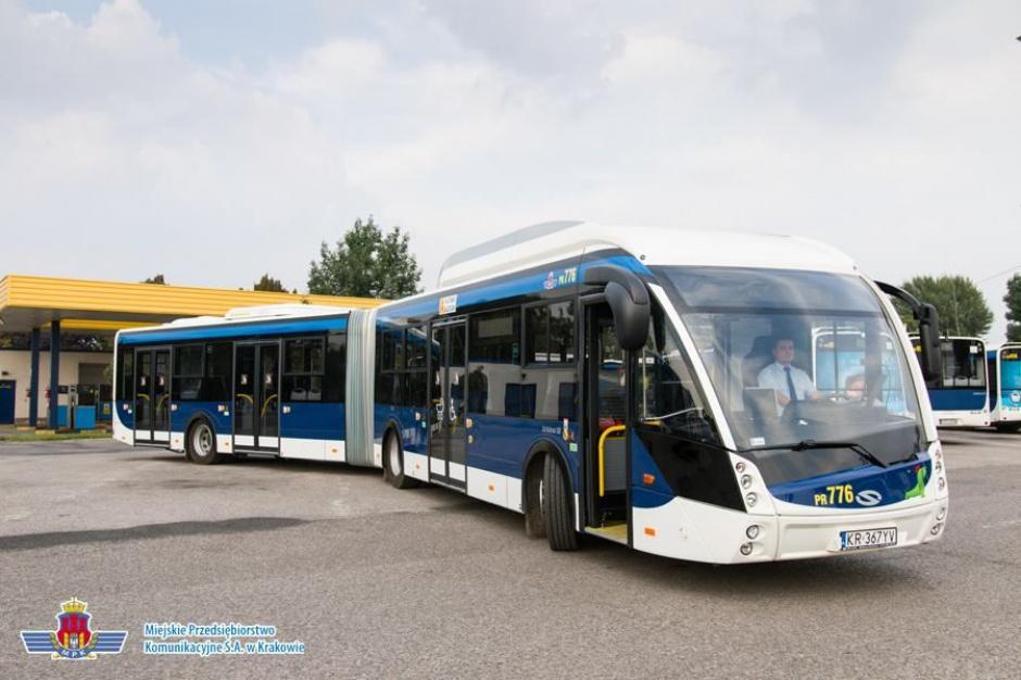 Kraków: Solaris Bus&Coach dostarczy 77 autobusów przegubowych dla MPK