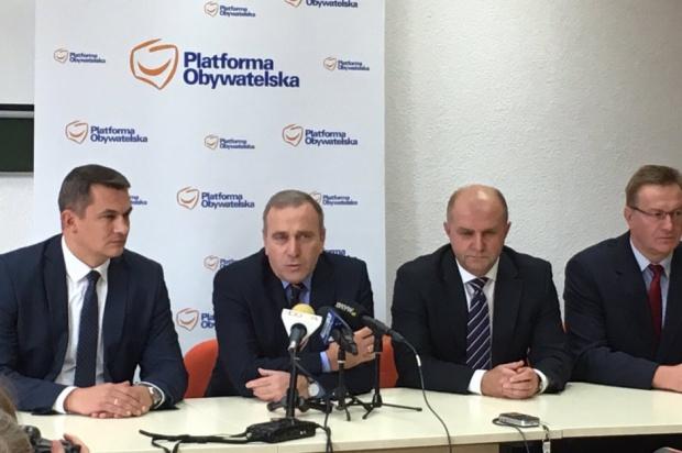 Schetyna: powiększenie Opola to demonstracja siły PiS