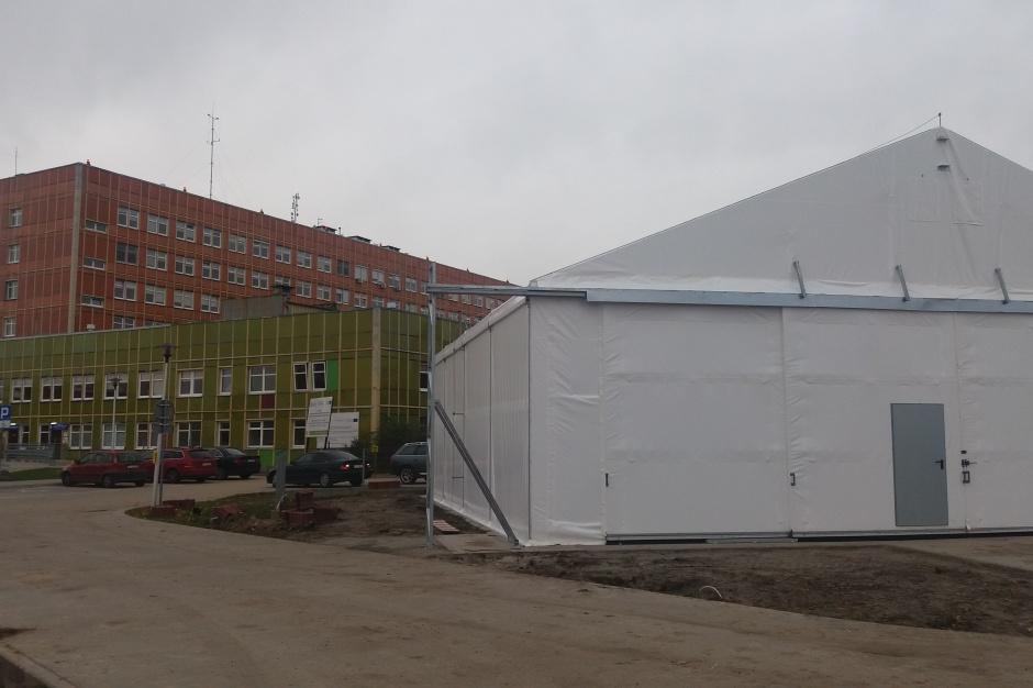 Gorzów Wielkopolski: Tymczasowa baza helikopterów już jest