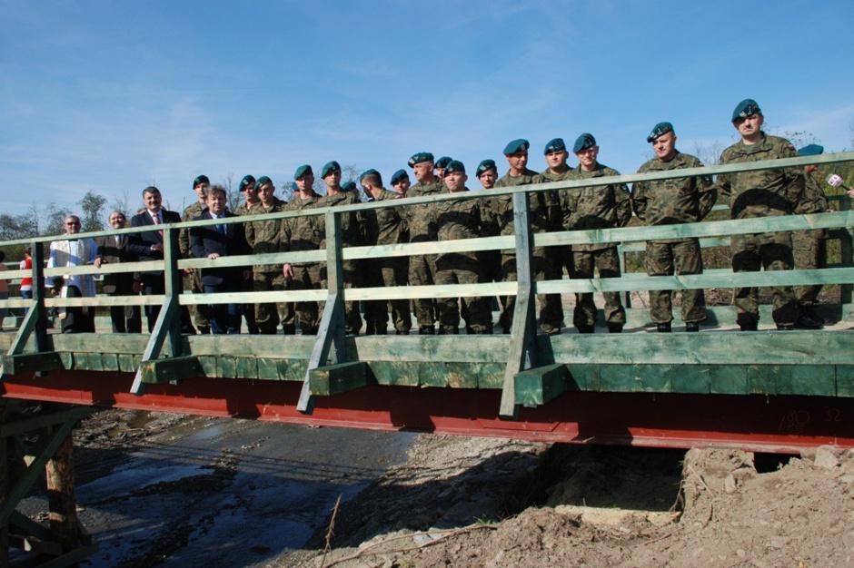 Giżycko poprosi wojsko o... wypożyczenie mostu