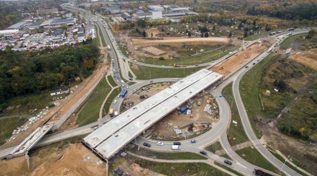 Dolnośląski odcinek drogi ekspresowej S5 gotowy w 70 proc.