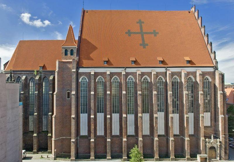 Kościół pw. św. Stanisława, Doroty i Wacława. Fot. Castellum