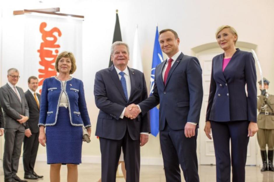 Prezydent Niemiec w Gdańsku: Jestem bardzo poruszony tą wystawą