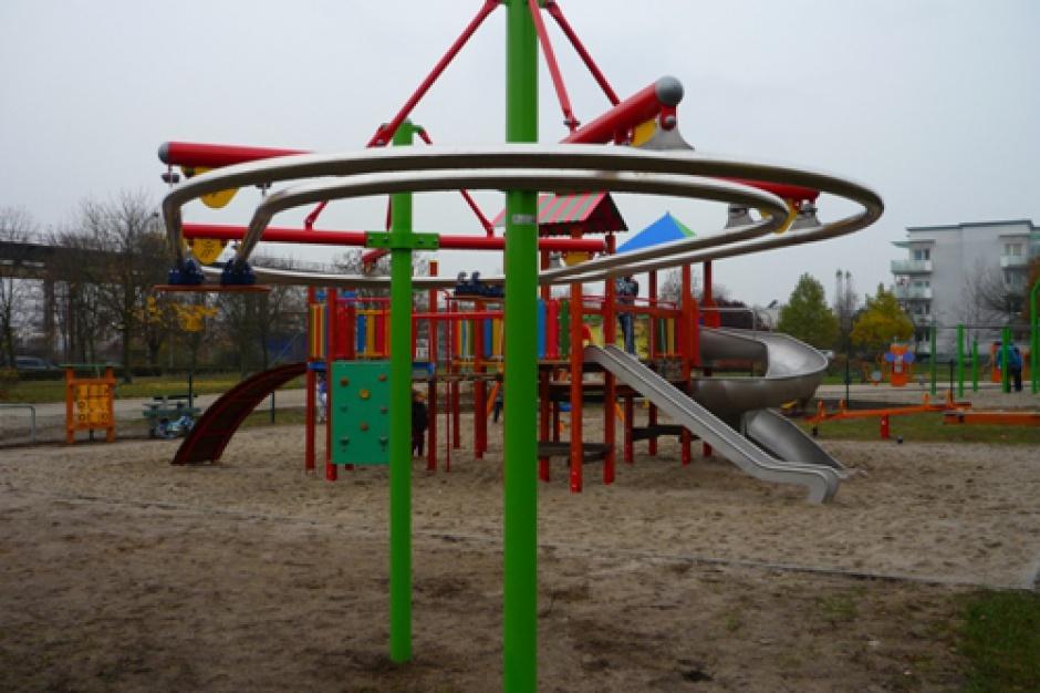 Bydgoszcz: Nowy plac zabaw dla najmłodszych na Osiedlu Leśnym