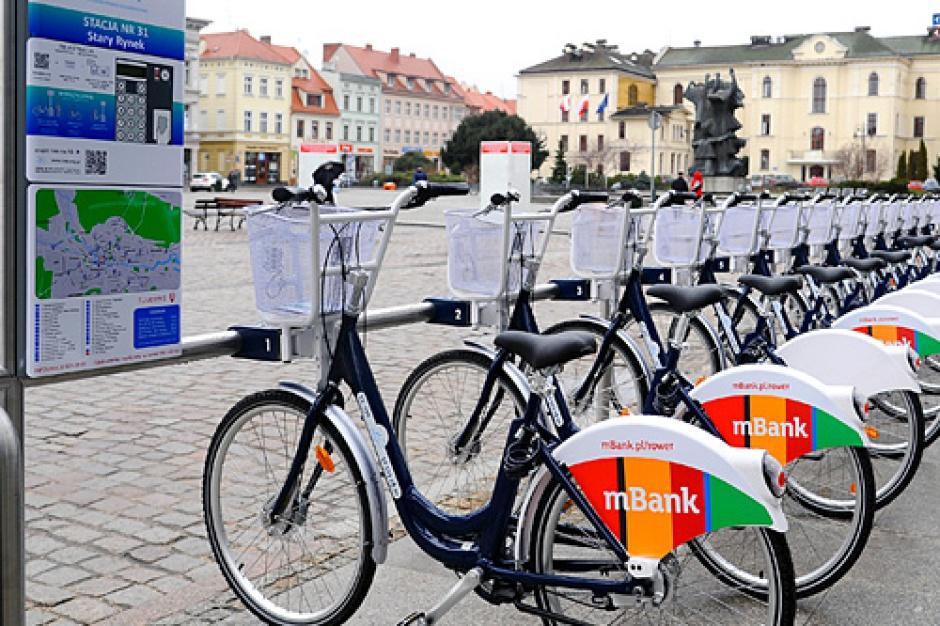 Bydgoszcz: Prawie milion wypożyczeń miejskiego roweru