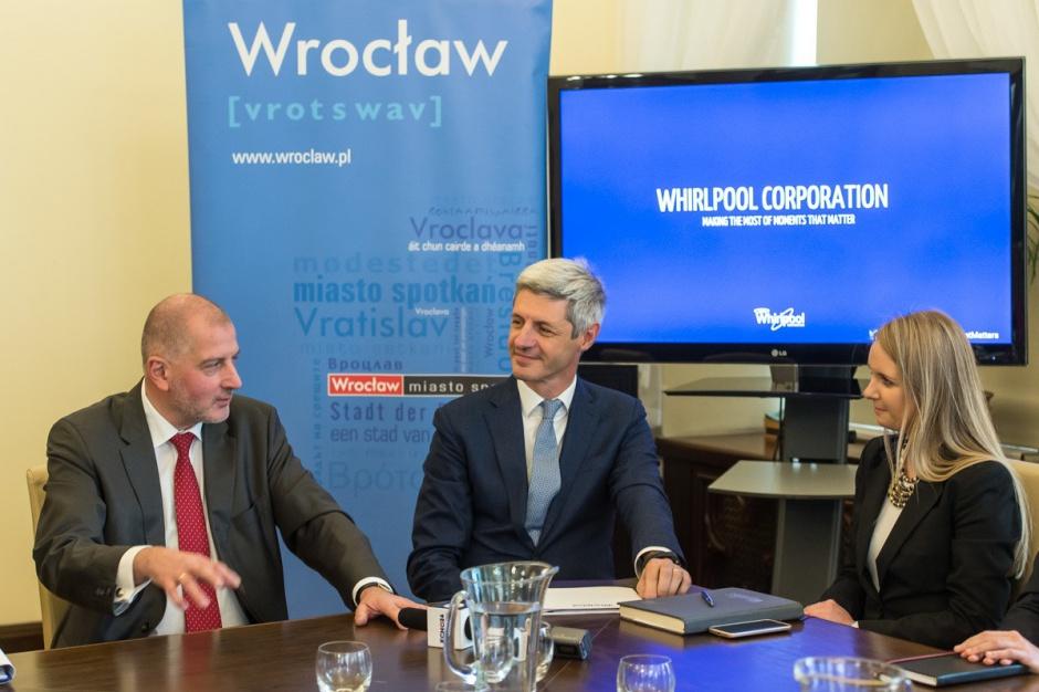 Wrocław: Whirlpool zainwestuje w mieście 126 mln euro