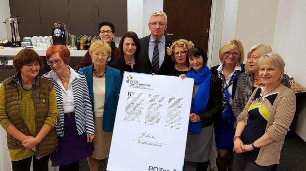 Prezydent dodał, że równe traktowanie jest jedną z zasad etycznych zawartych w Kodeksie etyki pracowników poznańskiego magistratu (fot.poznan.pl)