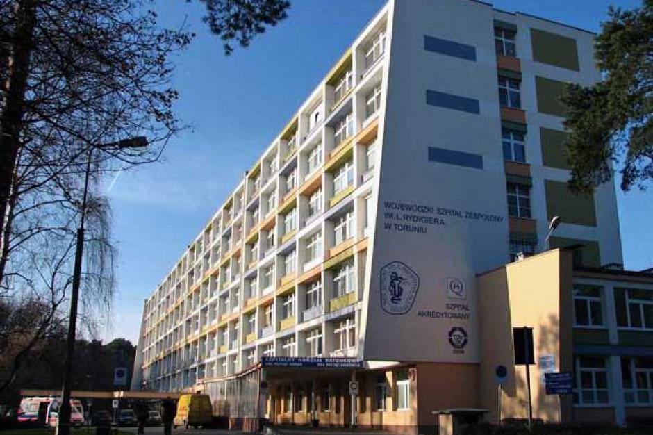 Prawie 240 mln zł kredytu z EBI na rozbudowę szpitala w Toruniu