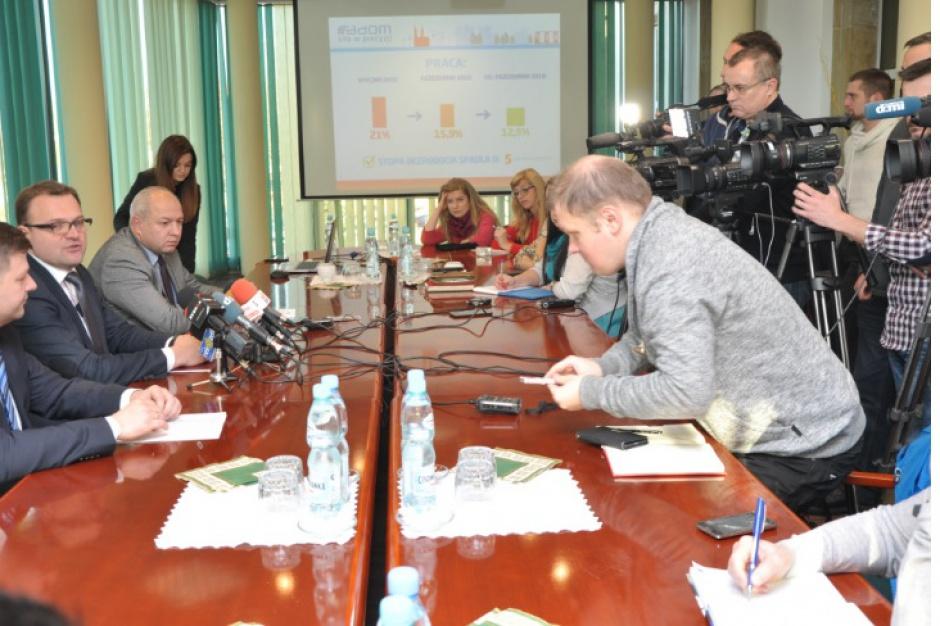Radom: Prezydent miasta podsumował dwa lata sprawowania urzędu