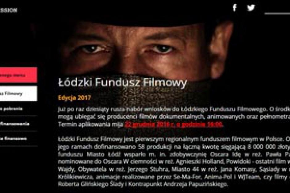 Łódź. Miasto przeznaczy 1,2 mln zł na Fundusz Filmowy