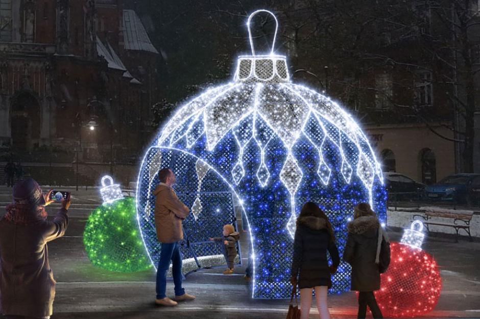 Kraków w świątecznej odsłonie. Wiemy, jak będzie wyglądać miasto