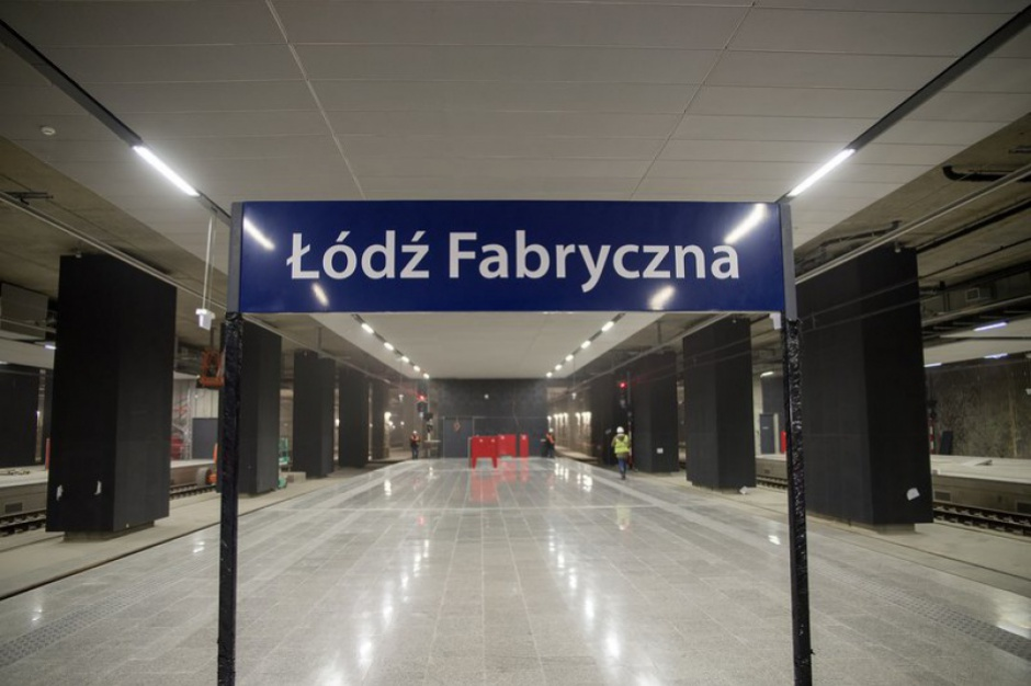 Łódź. PKP PLK: przetarg na budowę tunelu łączącego dworce kolejowe