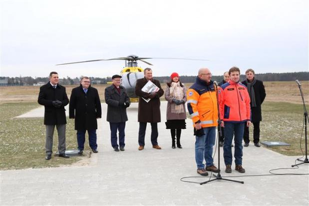 Baza Służby Ratownictwa Medycznego w woj. opolskim zainaugurowała działalność 30 listopada (fot.opolskie)