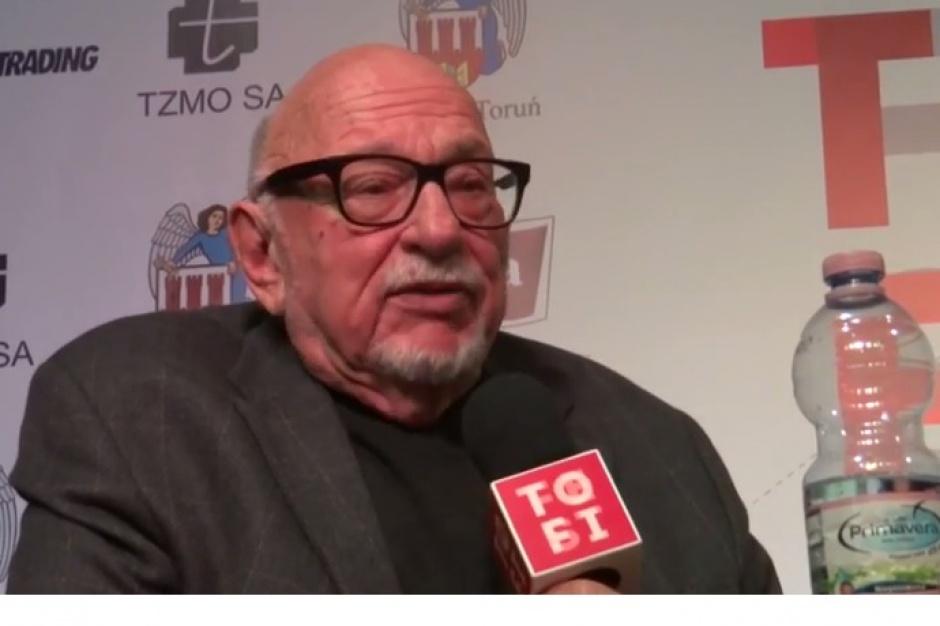Świętokrzyskie: Jerzy Hoffman honorowym obywatelem Chęcin