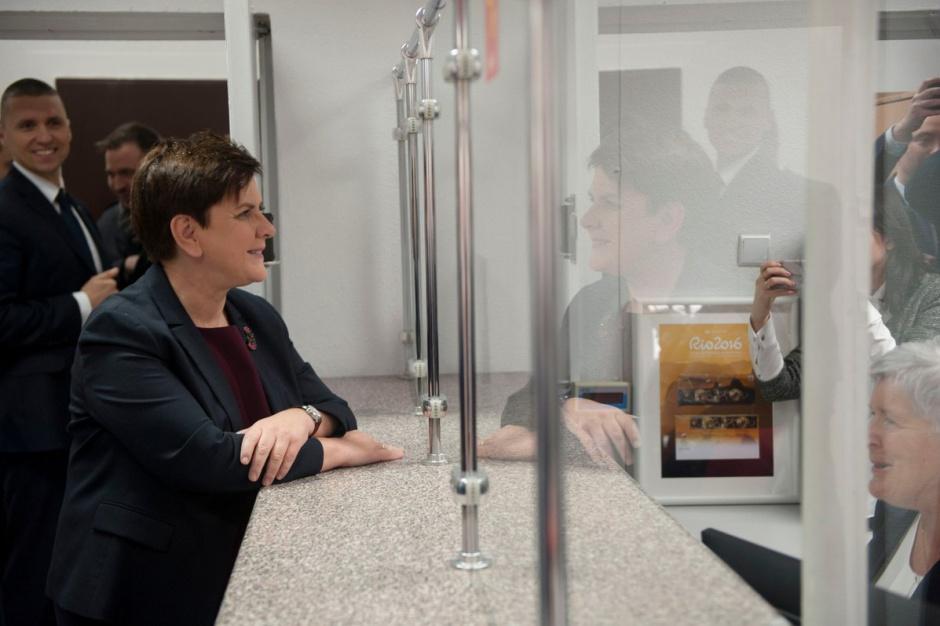 Otwarcie poczty, Beata Szydło: lokalne społeczności powinny mieć poczucie bezpieczeństwa