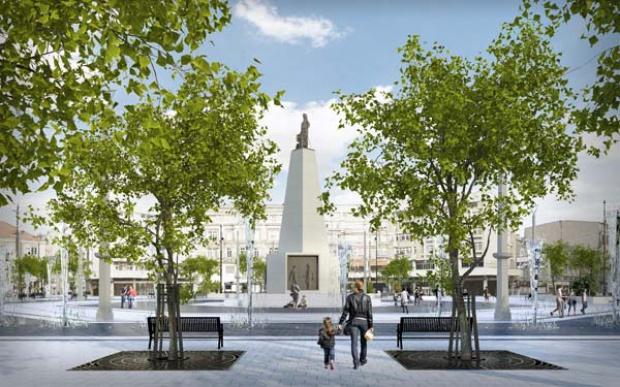 Łódź, rewitalizacja: Plac Wolności będzie jak nowy