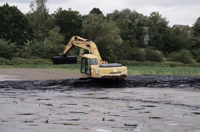 WFOŚIGW we Wrocławiu dofinansował prace przy zbiornikach retencyjnych kwotą 460 tys. zł. (fot. mat. pras.)