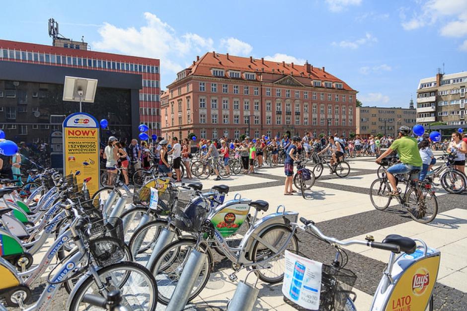 Wrocław, rowery miejskie: Ponad milion wypożyczeń w 2016 r, Większość bezpłatna