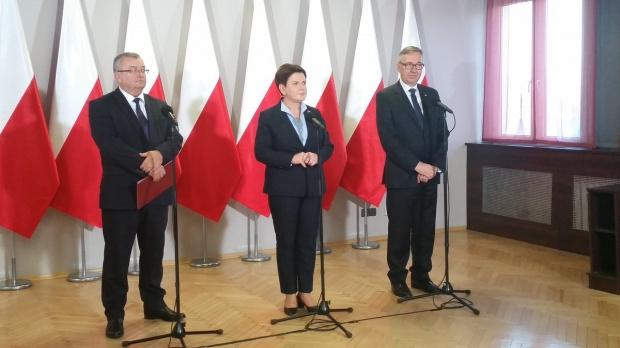 Beata Szydło, Bielsko-Biała: Budowa S1 staje się faktem