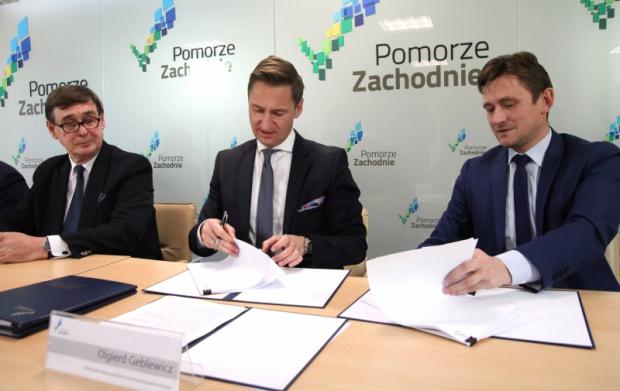 Zachodniopomorskie, Przewozy Regionalne: umowa na cztery lata