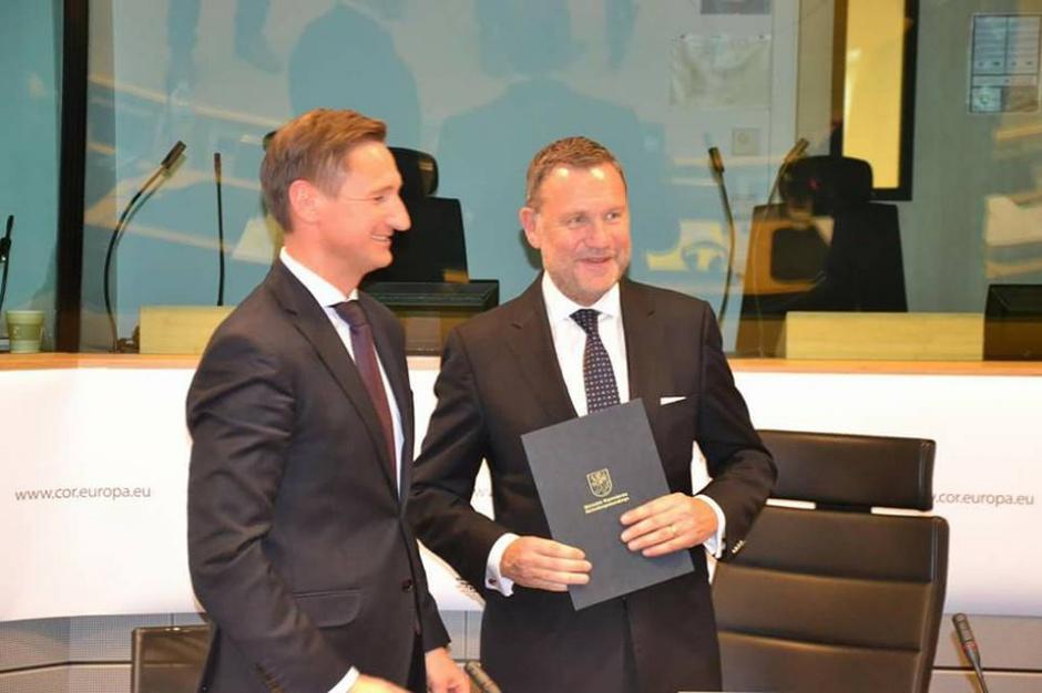 Marszałkowie na Komitecie Regionów za utrzymaniem polityki spójności